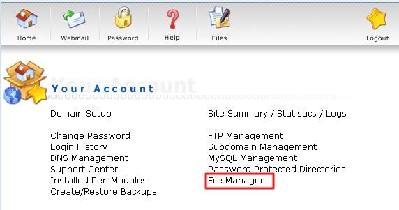 Host1Plus主机DirectAdmin面板如何设置文件权限