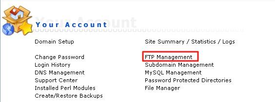 Host1Plus海外主机创建FTP用户图解